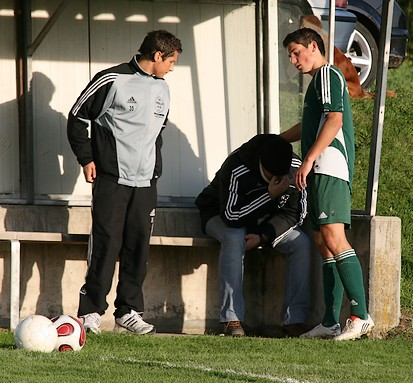 Trost für den Trainer